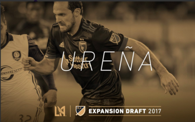 Marco Ureña LAFC Expansion Draft