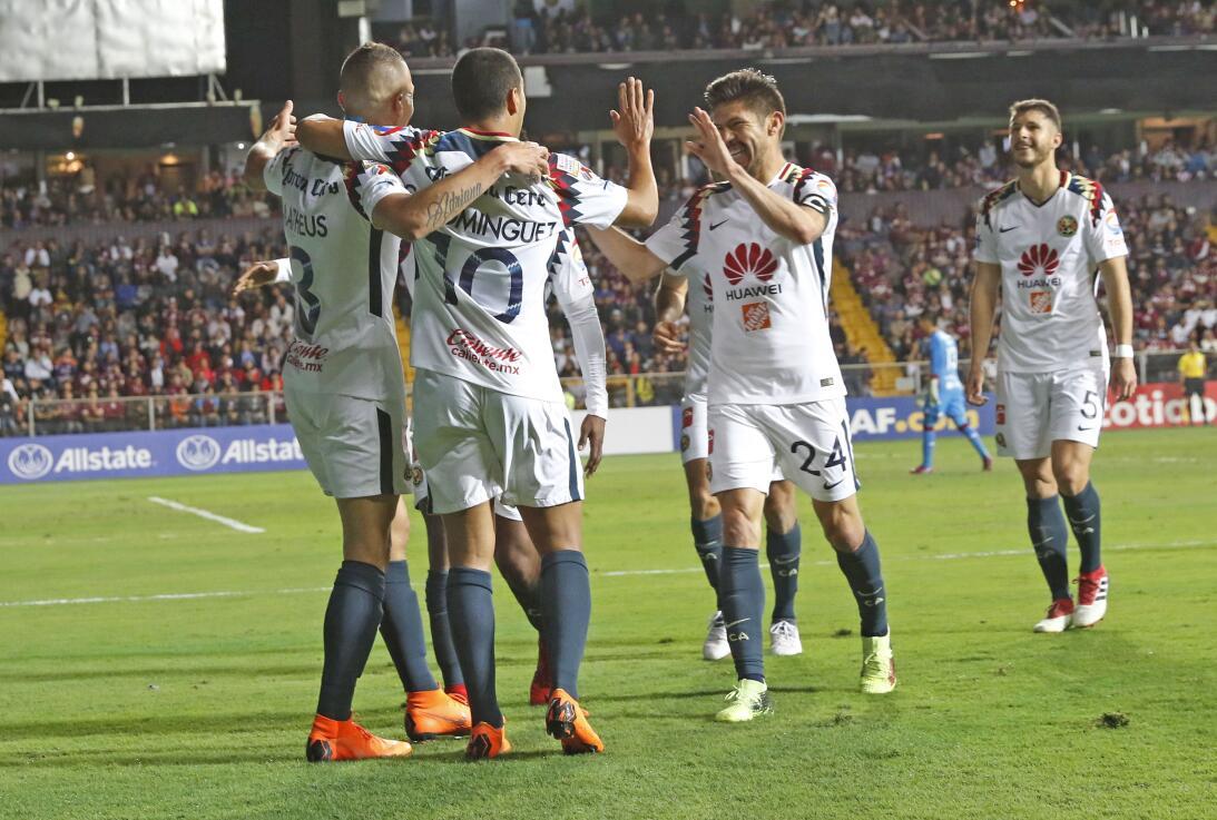América mostró categoría y goleó 1-5 al Saprissa en San José 20180221-66...