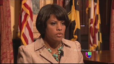 La alcaldesa de Baltimore abre las puertas a los inmigrantes