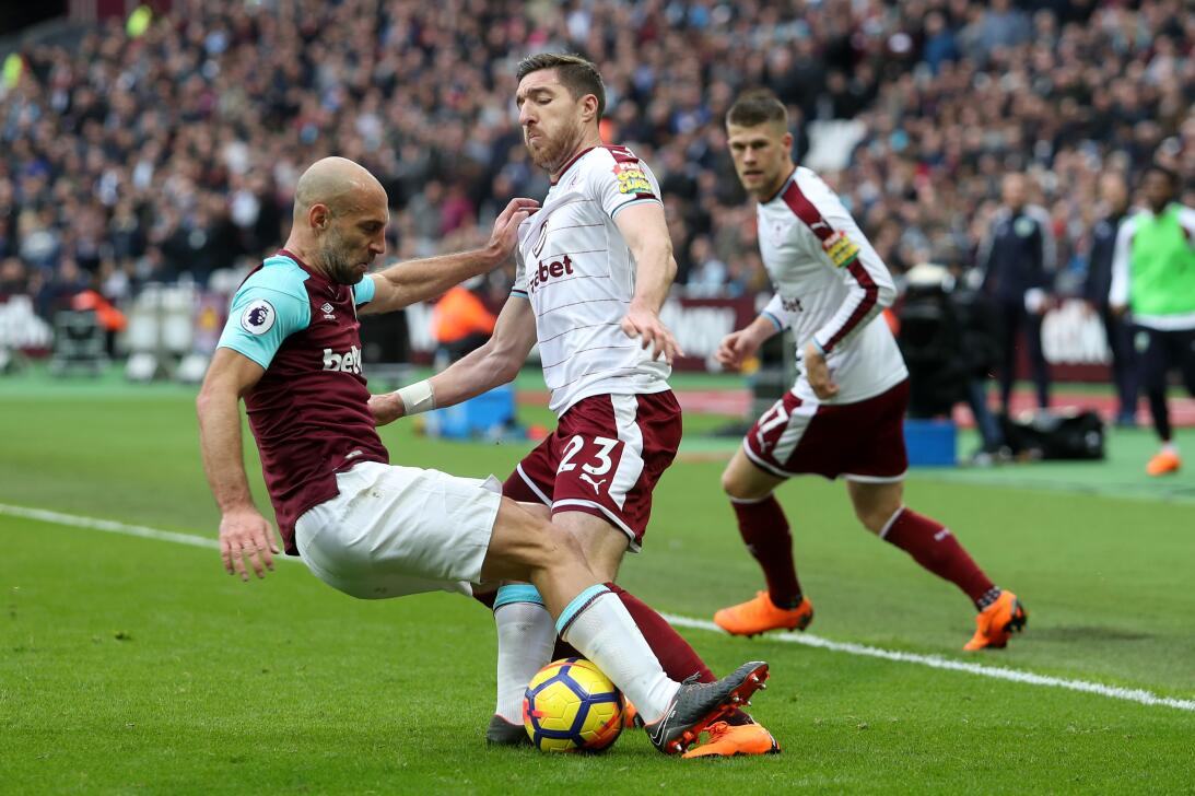 En fotos: hinchas del West Ham invadieron la cancha en derrota con Burnl...