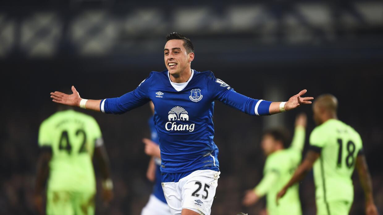 Everton vence al City en ida de Copa Liga