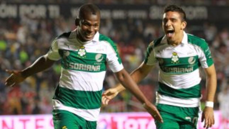 Santos le gannó a Querétaro jugando como visitante en el partido de ida...