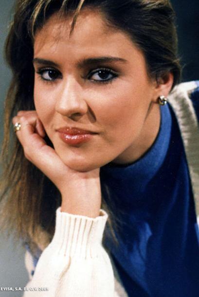 """La villana de """"Dulce Desafío"""" era la talentosa Chantal Andere, ¡desde jo..."""