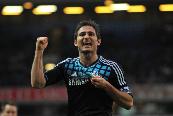 Después sigue al jugador inglés Frank Lampard.