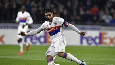 El delantero francés Nabil Fekir, cada vez más cerca del Liverpool