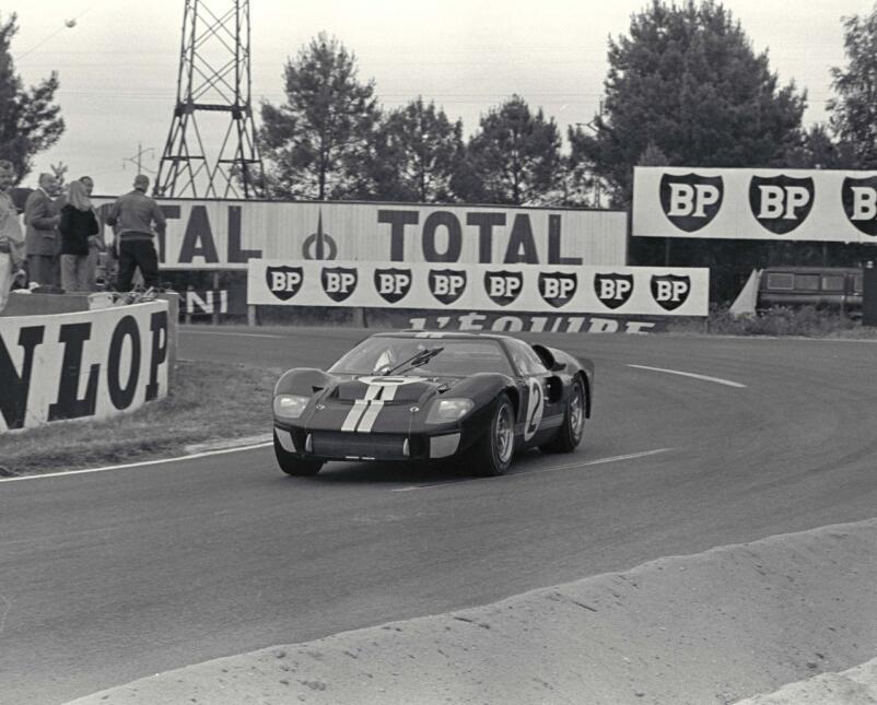Ford GT40 ganador de las 24 horas de Le Mans 1966