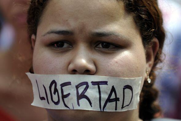 Otros piden libertad y la oportunidad de expresarse sin miedo a perder l...