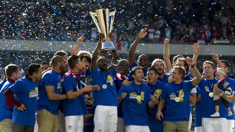 EE.UU. celebra la Copa Oro 2013