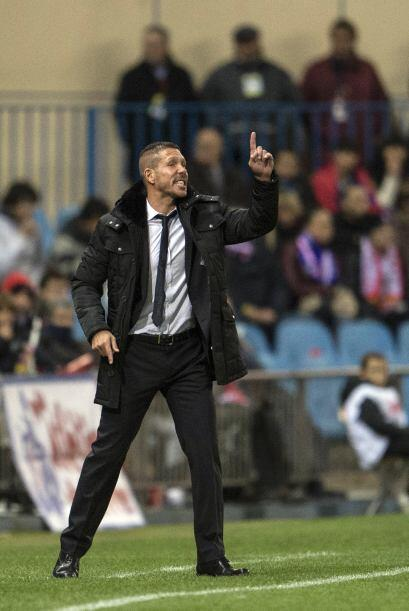 Los muchachos de Diego Simeone buscaban sumar una vez más de tres puntos...