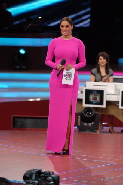 Como siempre, Galilea se veía guapísima en ese vestido rosa. Ser madre l...