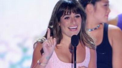 """La estrella de la serie """"Glee"""" hizo su primera aparición pública desde l..."""