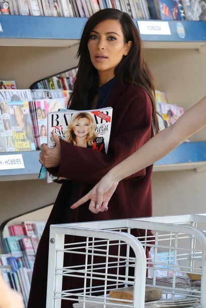 Kim Kardashian es una 'fashionista' total y además de salir de los almac...