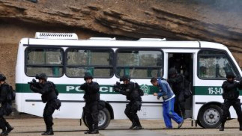 """La Policía colombiana capturó a alias """"Beto"""", un presunto narcotraficant..."""