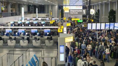 El aeropuerto de Schiphol, en Amsterdam. (Imagen de Archivo).
