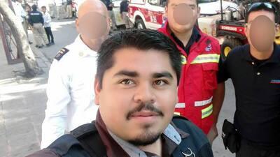 El periodista Daniel Esqueda.