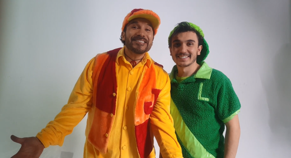 Ludoviquito y Junior P. Luche Galavisión