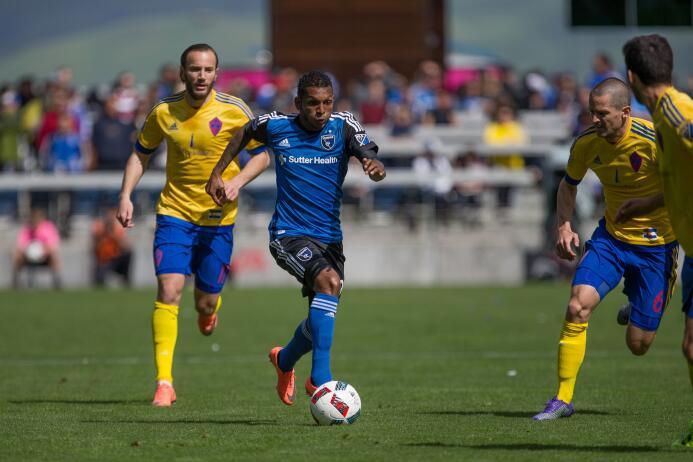 Alberto Quintero tuvo un buen debut en MLS.