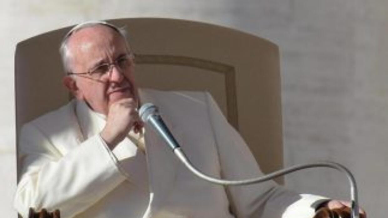 El papa Francisco presidió la tradicional audiencia general de todos los...