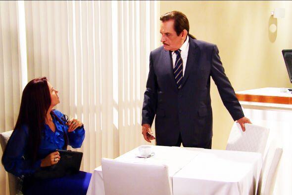 Muy bien don Fernando, que Gisela sepa con quién se mete. Usted no dejar...