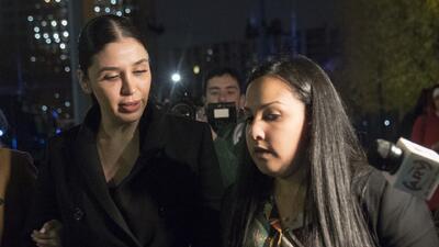 Emma Coronel evade a la prensa en el tercer día del juicio de 'El Chapo'