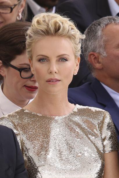 La actriz sudafricana fue la encargada de renovar la imagen de J'adore.M...