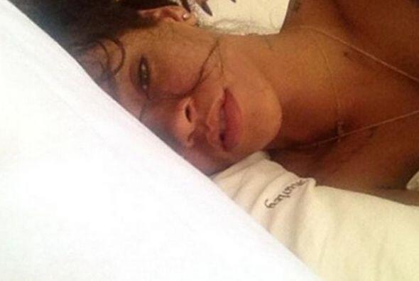 Al natural y sin retoques, Rihanna tampoco pudo con el furor de esta mod...