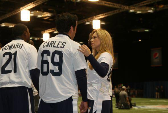 Daniel Carles instruído por Claudia Molina.