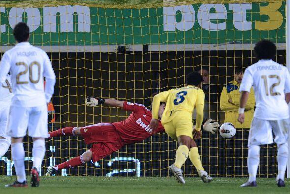 Y es que parecía presentir lo que llegaría, el empate del Villarreal. Si...