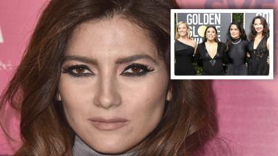 Mientras todas vistieron de negro, esta actriz latina se fue de rojo: así respondió a las críticas