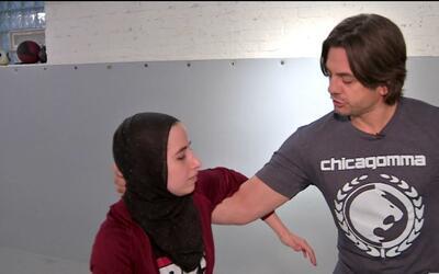 Musulmana decidió enseñar defensa personal a mujeres que se sientan inse...