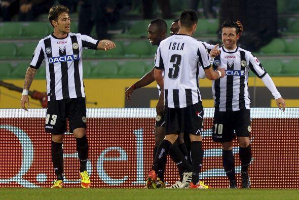 El 'Toto' hizo el gol para los suyos y además empataba a Germán Denis co...