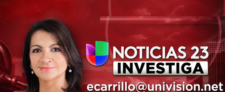 Érika Carrillo, periodista de investigación de Univision Noticias 23.