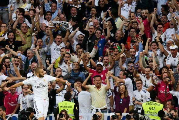 Benzema, abucheado en otras épocas, fue ovacionado por el gol y cuando f...