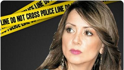Andrea Legarreta sufre robo