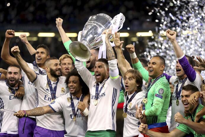 El Real Madrid se coronó campeón de Champions League en Cardiff ante la...