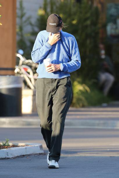 Jenner prefirió ocultarse y seguir su camino como si nada.