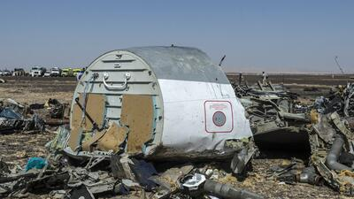 """Obama plantea """"posibilidad"""" de que avión ruso fuera derribado  plane.jpg"""