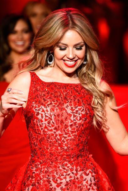 Su vestido realmente fue espectacular y dejó a todos con la boca abierta.