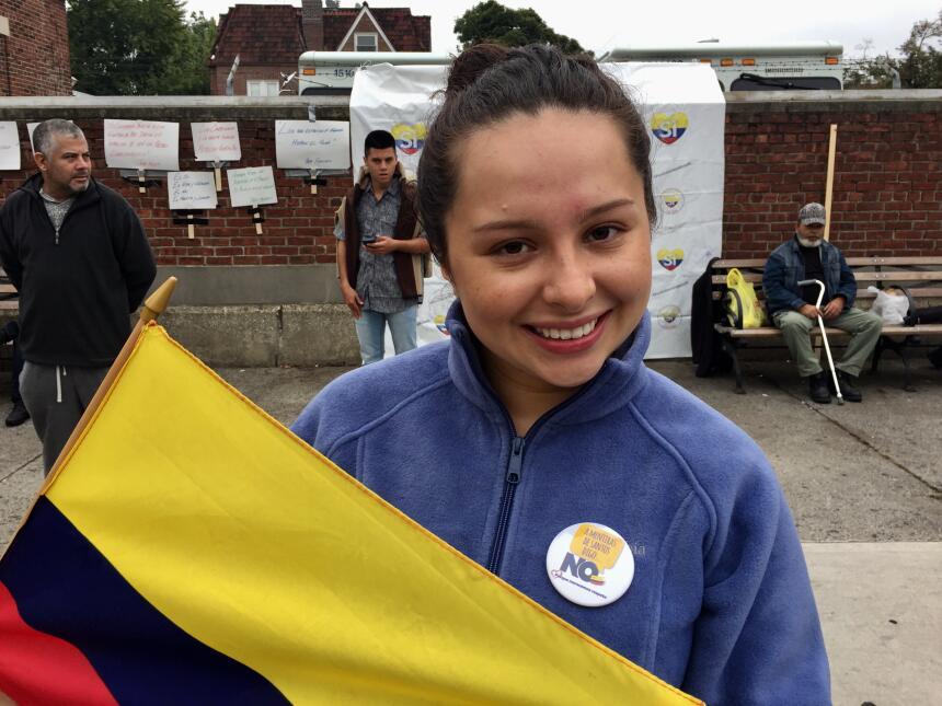 """Oriana Román votó """"no"""" porque """"los acuerdos exoneran a la..."""