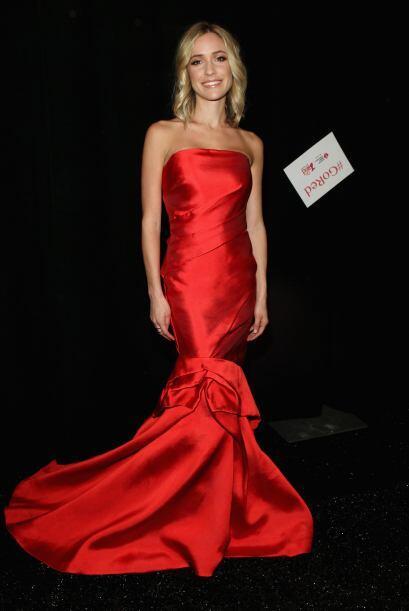 La diseñadora Kristin Cavallari apareció portando un vesti...