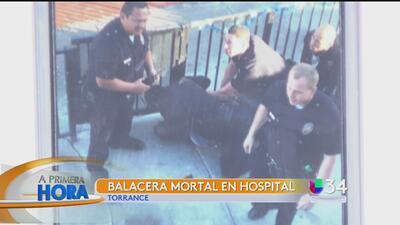 Familiares de hombre baleado en hospital denuncia abuso policial