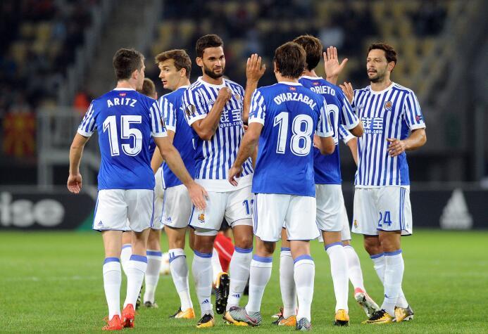 Vardar 0-7 Real Sociedad: el conjunto de San Sebastián fue a Macedonia p...