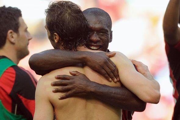 El Milan se puso a tan solo un punto de conquistar el título.
