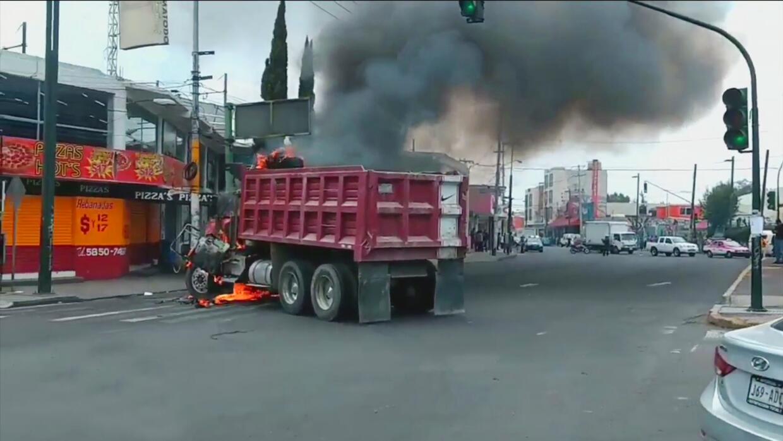Crimen en la Ciudad de México.