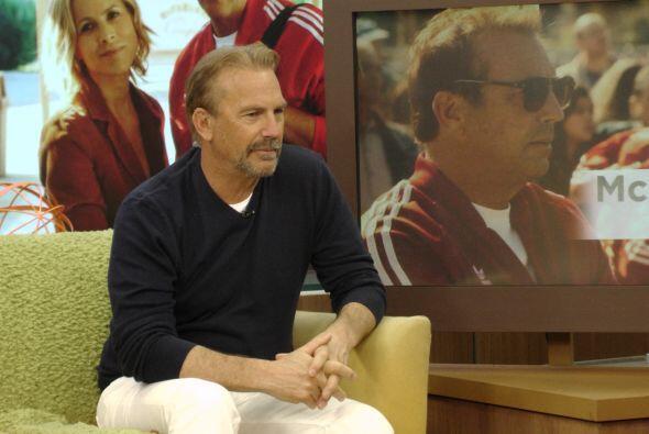 """Costner habló sobre """"MacFarland USA"""" y lo importante que es para él."""