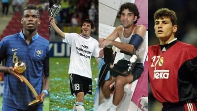 Los 'niños del Sub-20' que se convirtieron en figuras del fútbol mundial