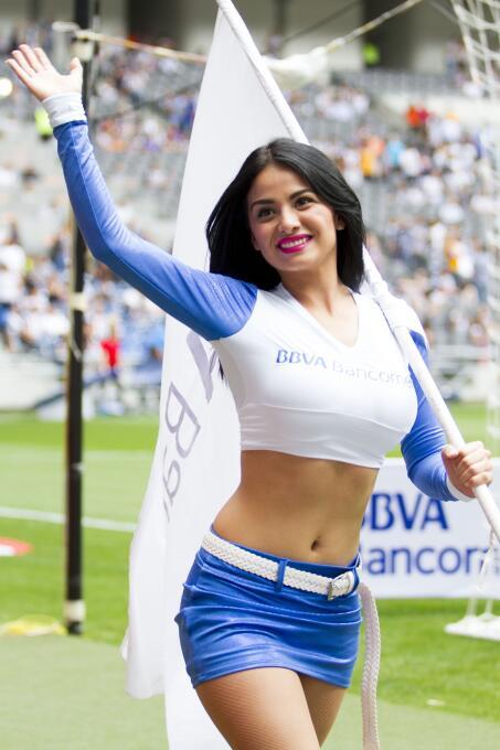 La belleza se hizo presente en las semifinales de vuelta del Clausura de...