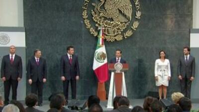 Nuevo gabinete de Enrique Peña Nieto.