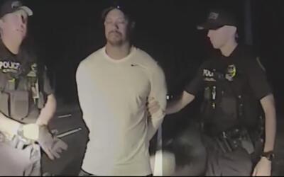 Estos son los videos que grabó la policía de la detención de Tiger Woods