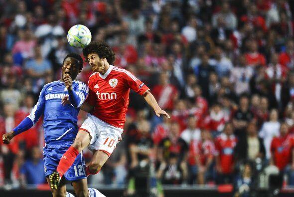 La falta de ideas por parte del Benfica resultaba contradictoria, más to...